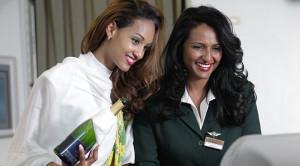 Hôtesses d'Ethiopian Airlines